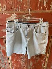 Quicksilver Mens Nelson Oxford Amphibian shorts, dryflight, 33 gray