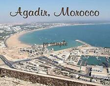 Morocco - AGADIR - Travel Souvenir Flexible Fridge Magnet