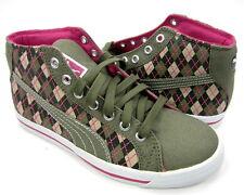 Puma Shoes Roader Prep School Burnt Olive/Fuschia/Purple Sneakers Women 6 EUR 36