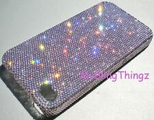 5ss Light Amethyst Crystal Bling Back Case for iPhone 5 with Swarovski Elements