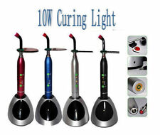 2 *New Dental 10W Wireless Cordless LED Curing Light Lamp 2000mw CE FDA Silver