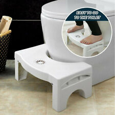 Folding Multi-Function Toilet Stool Reduces Straining Stability For Kids Adults