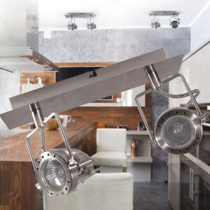 Adjustable Modern 2 Way Square Kitchen LED Ceiling GU10 Light Spotlight Fitting
