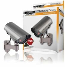 Konig CCTV dummy camera in outdoor housing with IR LED