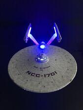 PRO BUILT 1/1000 Enterprise NCC 1701 Refit With Aztecing And Light Effects