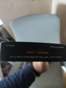 Toney Penna Golf RH Putter CNC Milled Pin Grabber Tour Limited Black Red w HC