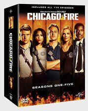 CHICAGO FIRE - SEASON 1 2 3 4 5 DVD BOXSET 30 DISCS  REGION 4  IN STOCK NOW!!