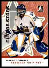 2006-07 In The Game Between The Pipes Marek Schwarz #36