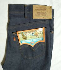 Vtg Levis 517 0917 Saddleman Boot Jeans NOS Orange Label 34x34 Made In USA