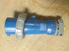 Hubbell Plug, 530P2W, 30A, 120/208VAC, 5W, Used, Watertight