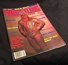 Gold Belt Wrestling Magazine Poster Book Vol 1 #1 1988 Rick Flair PRIORITY MAIL