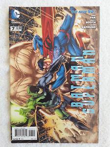 Batman / Superman #7 (Mar 2014, DC) Booth Variant VF 8.0