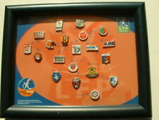 LOT DE 20 PIN'S FOOTBALL - FRANCE LIGUE 2 -  2004/2005