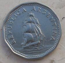 5 Pesos Repubblica Argentina 1961 Fragata -  n  1008