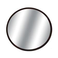 "Round 3.75"" Blind Spot Convex Mirror w/ Stick-on Mount Black for Car-Truck"