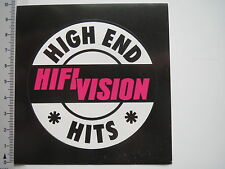 Aufkleber Sticker HiFi Vision - High End Hits Audio (7276)