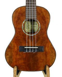 Alulu Solid Sarsi Wood Tenor Ukulele, Free Hard Case, BU653