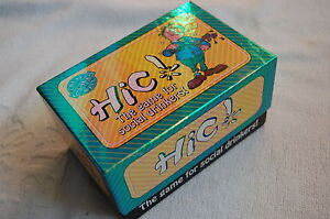 HIC! The Game for Social Drinkers Cheatwell Games