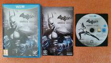 Batman Arkham City Armored Édition Wii U / dvd sans rayure