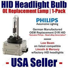 OE HID Headlight Low Beam GENUINE German PHILIPS fits Select Lincoln/Mercury D1R