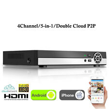 4CH HD 1080P Hybrid NVR DVR AHD TVI CVI 5-in-1 CCTV Surveillance Video Recorder