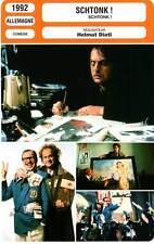 FICHE CINEMA : SCHTONK - George,Ochsenknecht,Dietl 1992