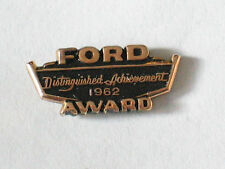 1962 Ford Pin   Distinguished Achievment  Ford Employee Award Pin Badge _ Gold