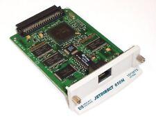 HP JET DIRECT 610N J4169A EIO 10/100 PLUG IN PRINT SERVER CARD GOOD
