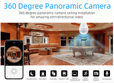 Secret Wifi Bulb Hidden IP Camera LED Panoramic Home Security Spy Light CCTV CAM