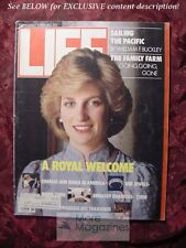 LIFE November 1985 Nov 85 PRINCESS DIANA LILY TOMLIN ISABELLA ROSSELLINI