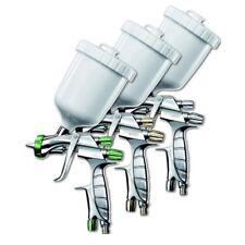 KIT 3 PISTOLE A SPRUZZO IWATA 1.3 mm LS400 WS400 BASE CLEAR Pininfarina EVO PRO