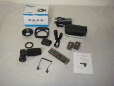 ANDOER HDV-201LM 24MP 1080P HD CAMCORDER W 16X DIGITAL ZOOM & 2 BATTERIES