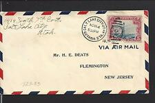 SALT LAKE CITY, UTAH COVER,1930, GUTHRIE STA. CL ON AIRMAIL COVER,