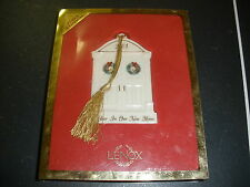 Lenox 2001 1st Year In Our New Home Xmas Ornament in box