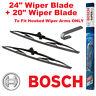 "Bosch Super Plus Front Wiper Blades 24"" SP24 and 20"" SP20 Pair Windscreen"