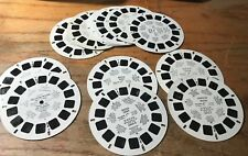 View Master Lot: 14 RARE Vintage Travel Disks Russia Louvre More 97-06