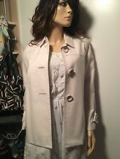 J.Crew jcrew Beige Cream Cotton Twill coat trench 4 Small spring $198