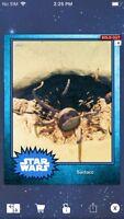 Topps Star Wars Digital Card Trader Blue Steel Sarlacc Base 4 Variant