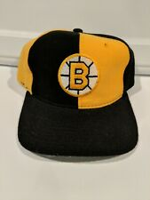 VTG Starter Boston Bruins Pinwheel NWOT NHL Hockey Hat Snapback Cap 100% Wool