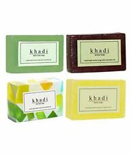 Khadi Herbal Natural Handmade Soaps (Pack of 4) Assorted soap Free Shipping