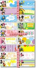 48 MICKEY MOUSE Personalised Name Sticker,Label,Tag