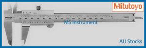 "Genuine New Mitutoyo 530-104 Fractional Vernier Caliper 150mm 6"" Australia Stock"