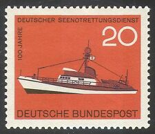 Germany 1965 Lifeboat/Sea-rescue/Emergency/Ships/Boats/Transport 1v (n42084)