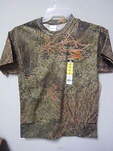 Mossy Oak Brush Men's Graphic Camo Short Sleeve T-Shirt Size M