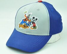32e79f1d256 Mickey Mouse Friends Disney Youth Hat Cap Curve Bill Two Tone Cartoon  Adjustable