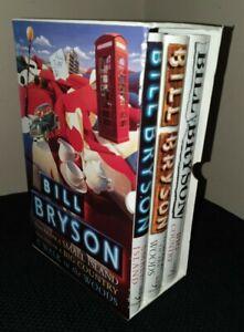 BILL BRYSON 3 Book Box Set Hardbacks - excellent condition