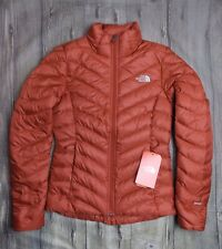 NORTH FACE TREVAIL 800 DOWN LADIES JACKET BNWT GENUINE £190 XS 8 WOMENS COAT RED