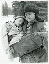 TRACY POLLAN JOE DON BAKER THE ABDUCTION OF KARI SWENSON ORIG 1988 NBC TV PHOTO