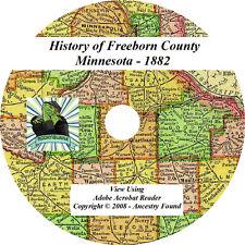 1882 History & Genealogy FREEBORN County Minnesota MN