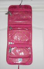 Iota Chic Cosmetic Traveler Hanging Organizer Toiletry Case in Passion Pink NWT